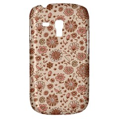 Retro Sketchy Floral Patterns Galaxy S3 Mini by TastefulDesigns
