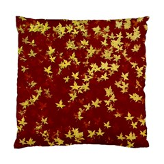 Background Design Leaves Pattern Standard Cushion Case (one Side) by Simbadda