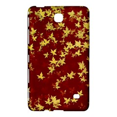 Background Design Leaves Pattern Samsung Galaxy Tab 4 (8 ) Hardshell Case  by Simbadda