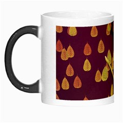 Bird Design Wall Golden Color Morph Mugs by Simbadda