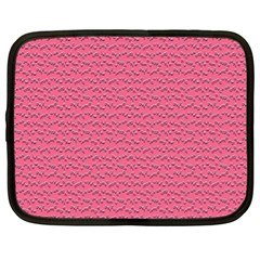 Background Letters Decoration Netbook Case (xl)  by Simbadda