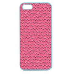 Background Letters Decoration Apple Seamless Iphone 5 Case (color) by Simbadda
