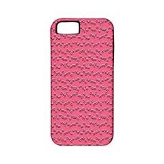 Background Letters Decoration Apple Iphone 5 Classic Hardshell Case (pc+silicone) by Simbadda