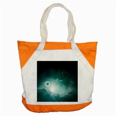 Astronaut Space Travel Gravity Accent Tote Bag by Simbadda