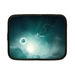 Astronaut Space Travel Gravity Netbook Case (small)  by Simbadda