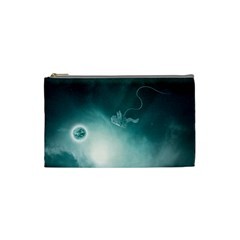 Astronaut Space Travel Gravity Cosmetic Bag (small)  by Simbadda