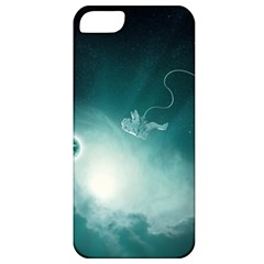Astronaut Space Travel Gravity Apple Iphone 5 Classic Hardshell Case by Simbadda