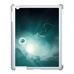Astronaut Space Travel Gravity Apple Ipad 3/4 Case (white) by Simbadda