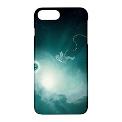 Astronaut Space Travel Gravity Apple Iphone 7 Plus Hardshell Case by Simbadda