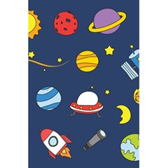 Space Background Design 5 5  X 8 5  Notebooks by Simbadda