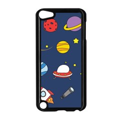 Space Background Design Apple Ipod Touch 5 Case (black) by Simbadda