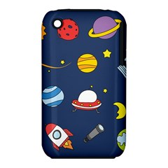 Space Background Design Iphone 3s/3gs by Simbadda