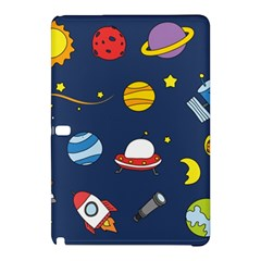 Space Background Design Samsung Galaxy Tab Pro 12 2 Hardshell Case by Simbadda