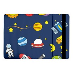 Space Background Design Samsung Galaxy Tab Pro 10 1  Flip Case by Simbadda