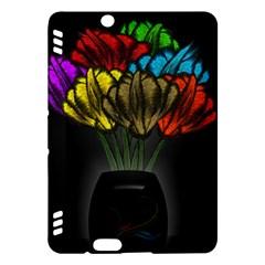 Flowers Painting Still Life Plant Kindle Fire Hdx Hardshell Case by Simbadda