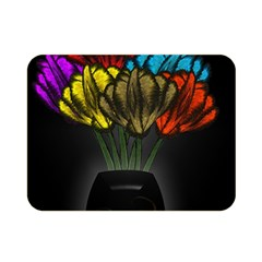 Flowers Painting Still Life Plant Double Sided Flano Blanket (mini)  by Simbadda