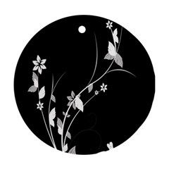 Plant Flora Flowers Composition Ornament (round) by Simbadda