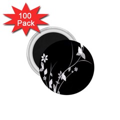 Plant Flora Flowers Composition 1 75  Magnets (100 Pack)  by Simbadda