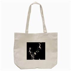 Plant Flora Flowers Composition Tote Bag (cream) by Simbadda