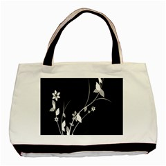Plant Flora Flowers Composition Basic Tote Bag (two Sides) by Simbadda