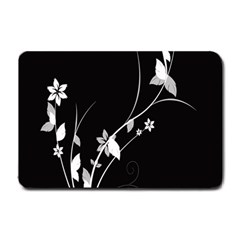 Plant Flora Flowers Composition Small Doormat  by Simbadda