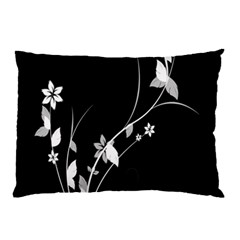 Plant Flora Flowers Composition Pillow Case by Simbadda