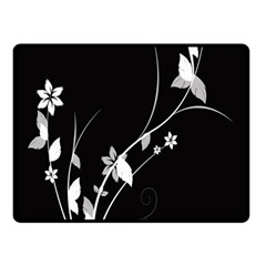Plant Flora Flowers Composition Fleece Blanket (small) by Simbadda