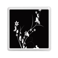 Plant Flora Flowers Composition Memory Card Reader (square)  by Simbadda