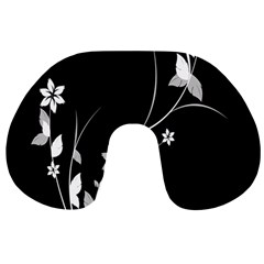 Plant Flora Flowers Composition Travel Neck Pillows by Simbadda