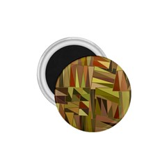 Earth Tones Geometric Shapes Unique 1 75  Magnets by Simbadda