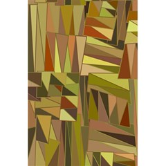 Earth Tones Geometric Shapes Unique 5 5  X 8 5  Notebooks by Simbadda