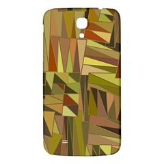 Earth Tones Geometric Shapes Unique Samsung Galaxy Mega I9200 Hardshell Back Case by Simbadda