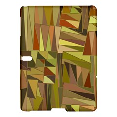 Earth Tones Geometric Shapes Unique Samsung Galaxy Tab S (10.5 ) Hardshell Case