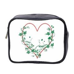 Heart Ranke Nature Romance Plant Mini Toiletries Bag 2-Side