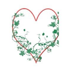 Heart Ranke Nature Romance Plant 5 5  X 8 5  Notebooks by Simbadda
