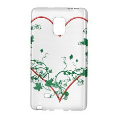 Heart Ranke Nature Romance Plant Galaxy Note Edge by Simbadda