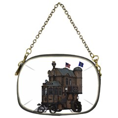 Steampunk Lock Fantasy Home Chain Purses (one Side)  by Simbadda