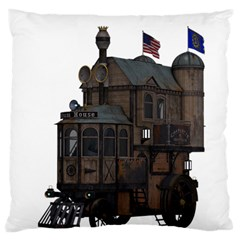 Steampunk Lock Fantasy Home Large Cushion Case (two Sides) by Simbadda