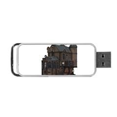 Steampunk Lock Fantasy Home Portable Usb Flash (two Sides) by Simbadda