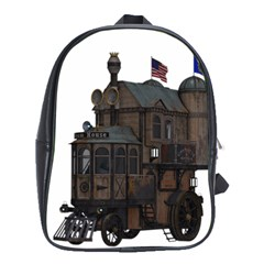 Steampunk Lock Fantasy Home School Bags (xl)  by Simbadda