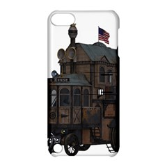 Steampunk Lock Fantasy Home Apple Ipod Touch 5 Hardshell Case With Stand by Simbadda