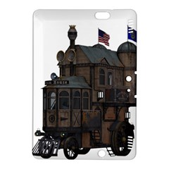 Steampunk Lock Fantasy Home Kindle Fire Hdx 8 9  Hardshell Case by Simbadda