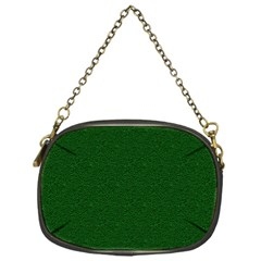 Texture Green Rush Easter Chain Purses (one Side)  by Simbadda
