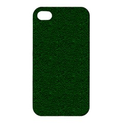 Texture Green Rush Easter Apple Iphone 4/4s Hardshell Case by Simbadda