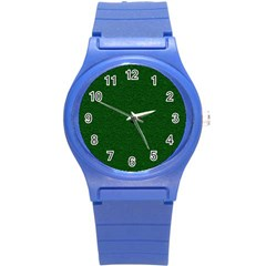 Texture Green Rush Easter Round Plastic Sport Watch (s) by Simbadda