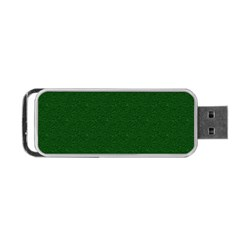 Texture Green Rush Easter Portable Usb Flash (one Side) by Simbadda