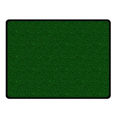 Texture Green Rush Easter Double Sided Fleece Blanket (small)  by Simbadda