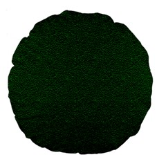 Texture Green Rush Easter Large 18  Premium Flano Round Cushions by Simbadda