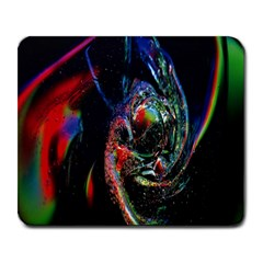 Abstraction Dive From Inside Large Mousepads by Simbadda