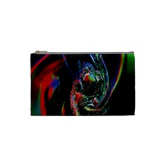 Abstraction Dive From Inside Cosmetic Bag (small)  by Simbadda